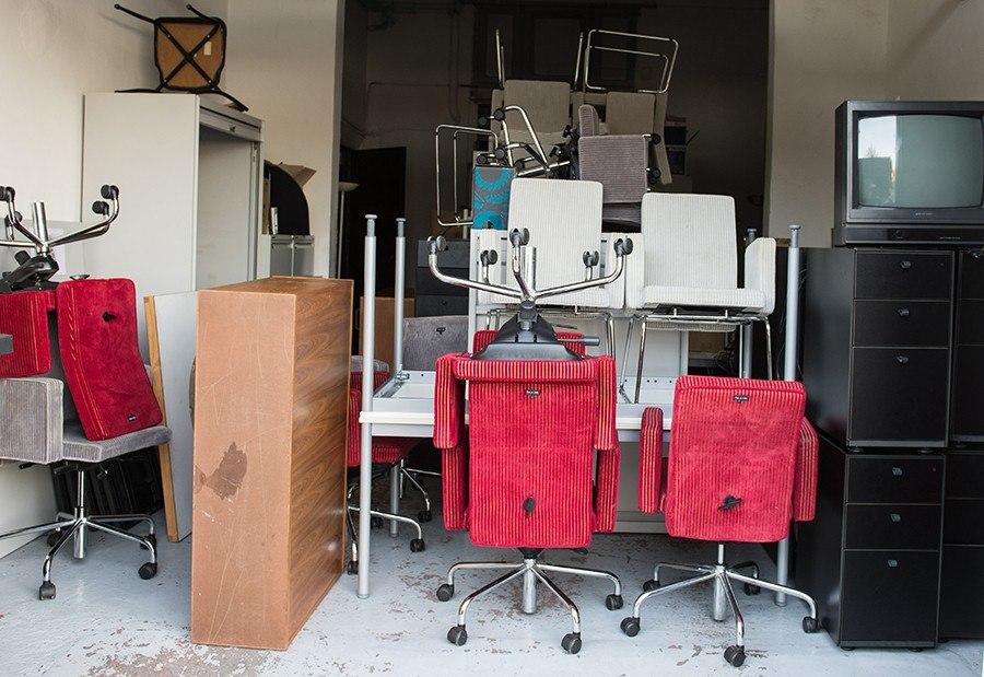Opslag meubels na verhuis